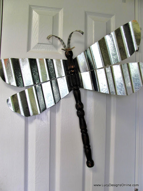 metal wing dragonfly art lucy designs