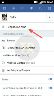 Cara Setting Privacy Facebook