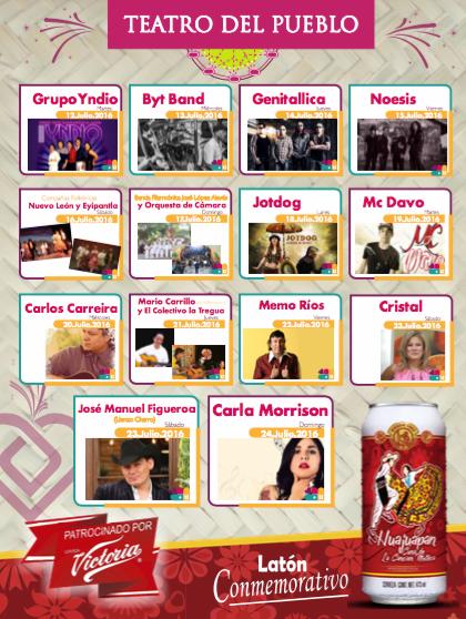 Feria Huajuapan 2016 teatro del pueblo