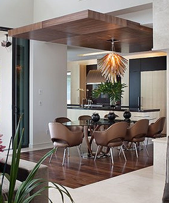 Retractable Dining Room Light