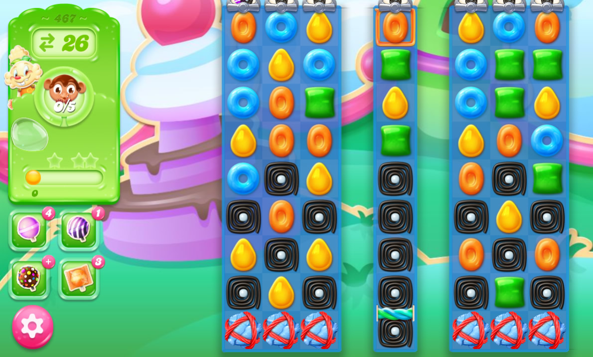 Candy Crush Jelly Saga 467
