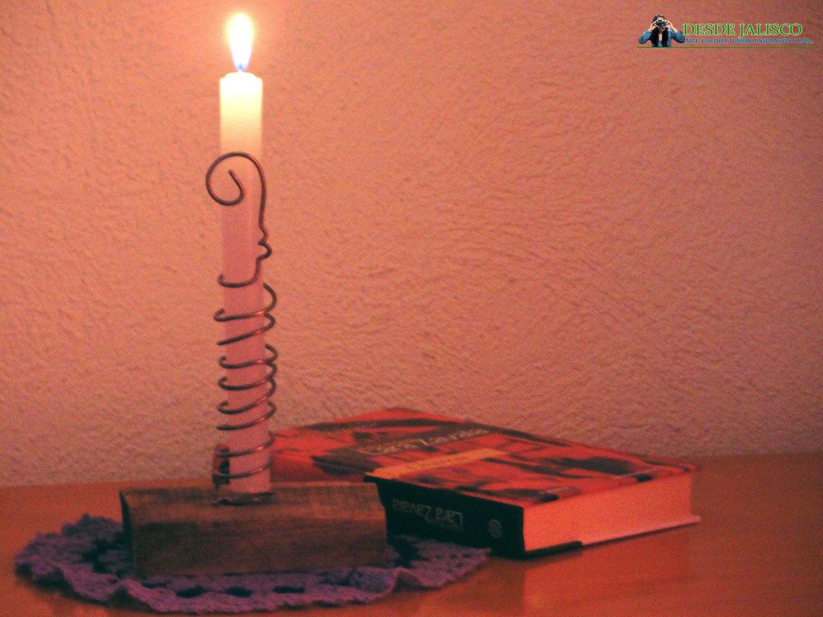 candelabro rústico