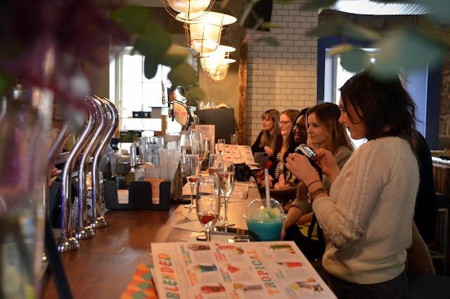 Aberdeen bloggers Cocktail Masterclass - Revolution Aberdeen