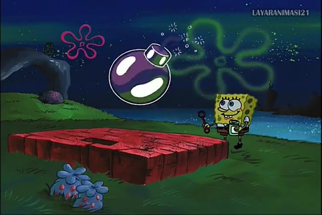 SpongeBob Season 2 Episode 4A - Dying for Pie SD 480p Dub Indo