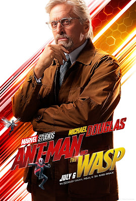 Marvel's Ant-Man and the Wasp Hank Pym poster