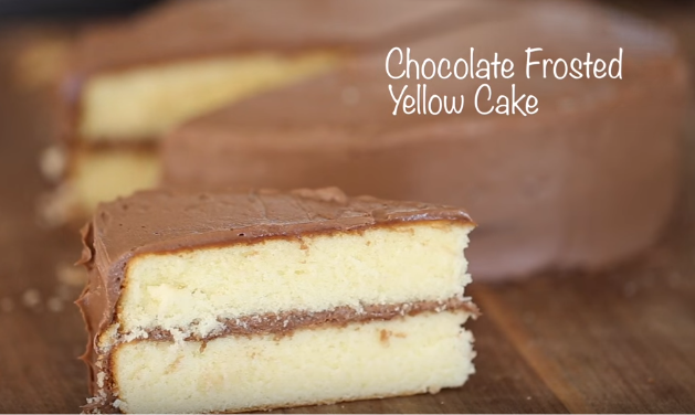 Best Cake Recipes Ever Chocolate Frosted Yellow Cake By Byron Talbott