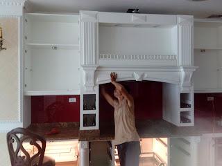 tháo lắp tủ bếp
