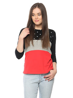 buy vvoguish womens regular fit cotton top from amazon
