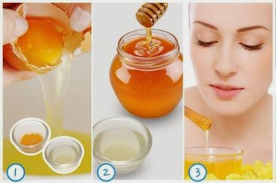 Cách làm căng da mặt tự nhiên với mật ong và trứng gà