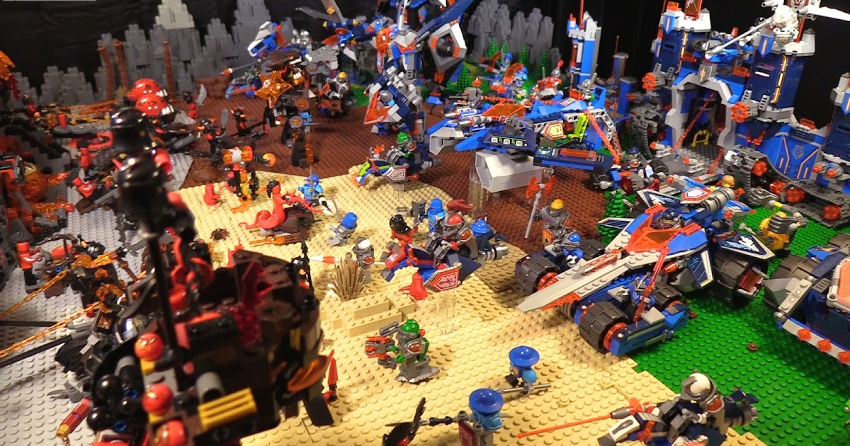 Lego Nexo Knights Year 1 Layout Clear Out