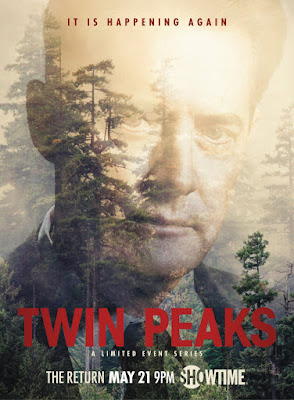 "Twin Peaks Season 3 ""It Is Happening Again"" Character Posters - Kyle MacLachlan as Special Agent Dale Cooper"