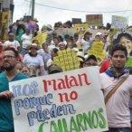 Nos matan porque no pueden callarnos./ Foto: www.telesurtv.net