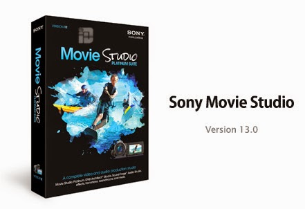 Sony Movie Studio Terbaru Full Version + Keygen