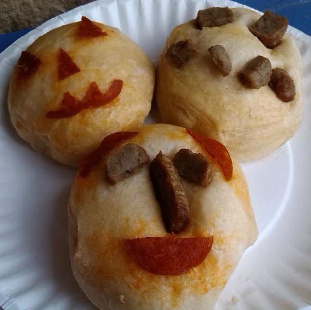 Grands!® Halloween Recipe Easy Edible Art Bento ideas.