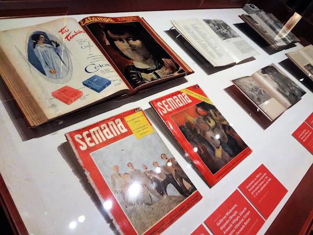 ボテロ作品の載った当時のコロンビアの定期刊行物
