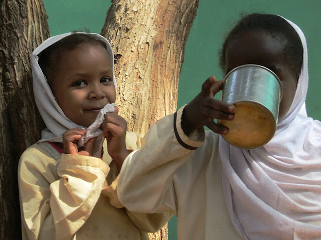 Children in Khartoum, Sudan.