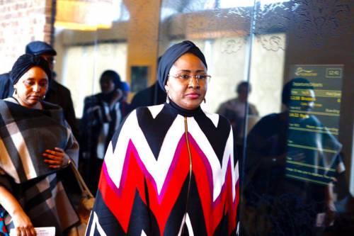 First Lady Aisha Buhari in London