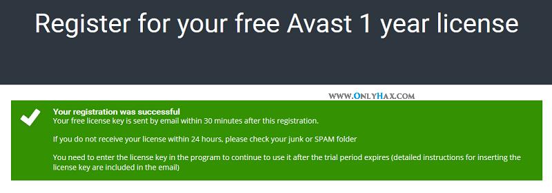 how to get free avast antivirus licence key
