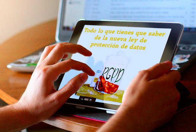 Nova llei de protecció de dades RGPD