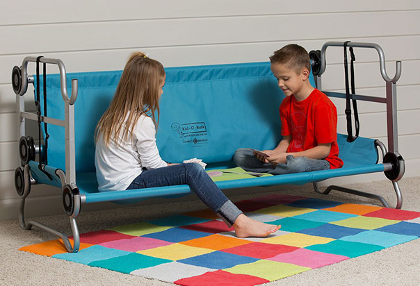Frame is manufactured from anti-rust, powder coated steel and each cot has a weight tolerance of up to 200 LBS