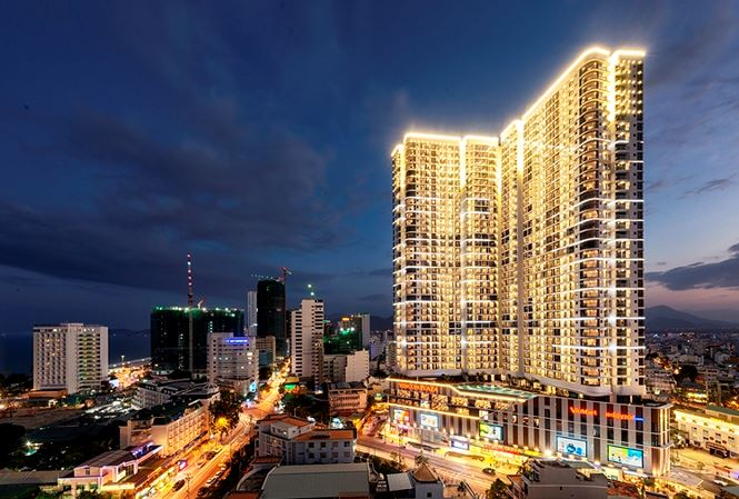 Phối cảnh Vinpearl Discovery Nha Trang Empire condotel