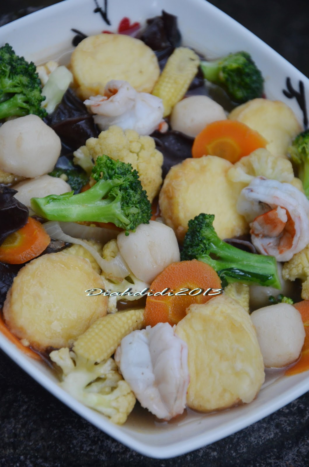 Diah Didi S Kitchen Sapo Tahu Udang
