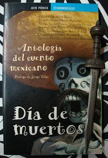 Portada del libro Día de muertos. Antología del cuento mexicano, de varios autores
