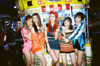 exid debut japon up and down