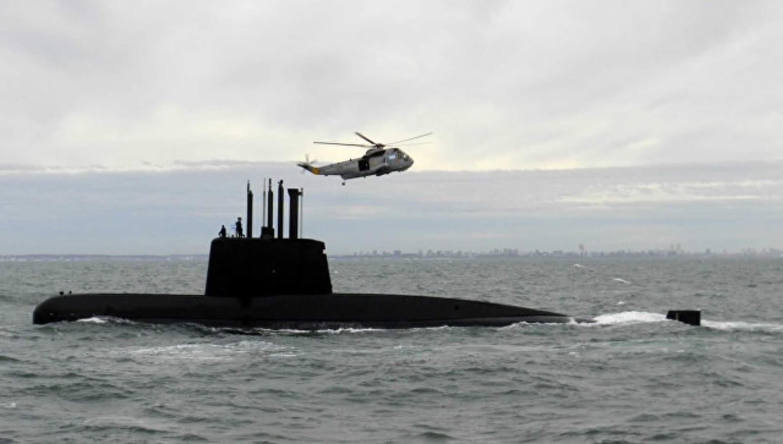 Kapal selam Argentina yang hilang setahun lalu  ditemukan