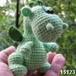 patron dragon amigurumi, free pattern amigurumi dragon