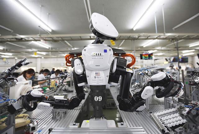 Trabalhadores já estão sendo substituídos por robôs em empresas de médio porte no Japão