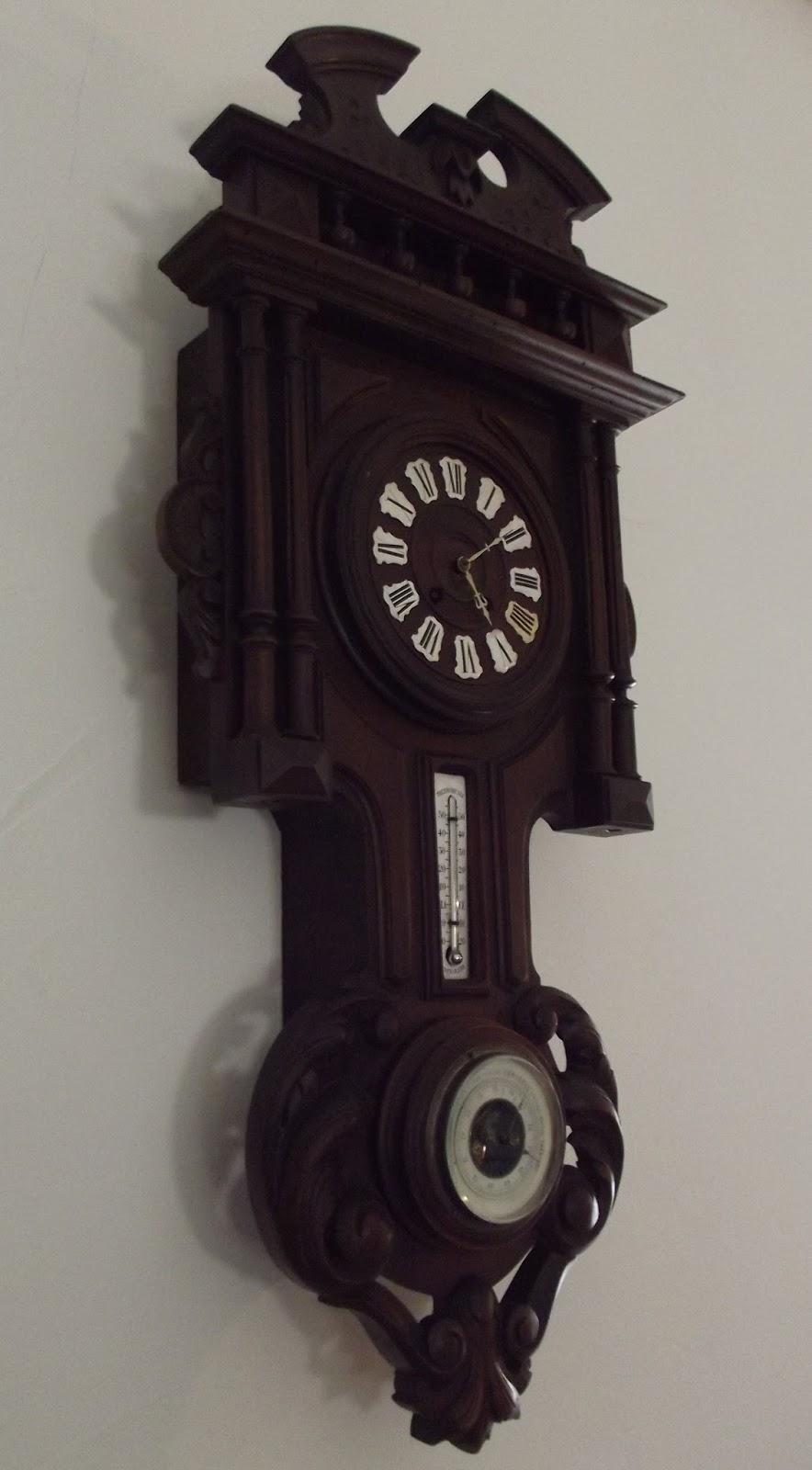 pendule murale carillon de style henry ii m canisme d 39 horlogerie xixeme. Black Bedroom Furniture Sets. Home Design Ideas