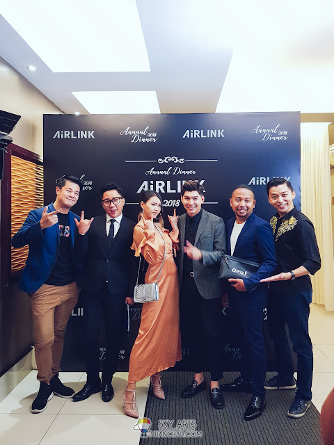 Airlink Annual Dinner 2018 at Chuai Heng Banquet Hall KL Lucky Draw