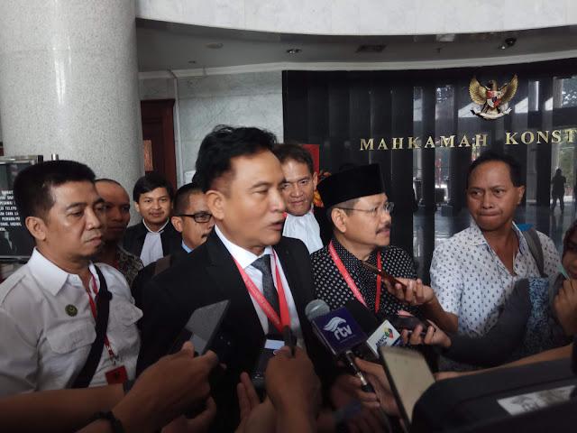 Yusril: Penyelesaian Kasus Bendera Kalimat Tauhid Sebaiknya Lewat Musyawarah
