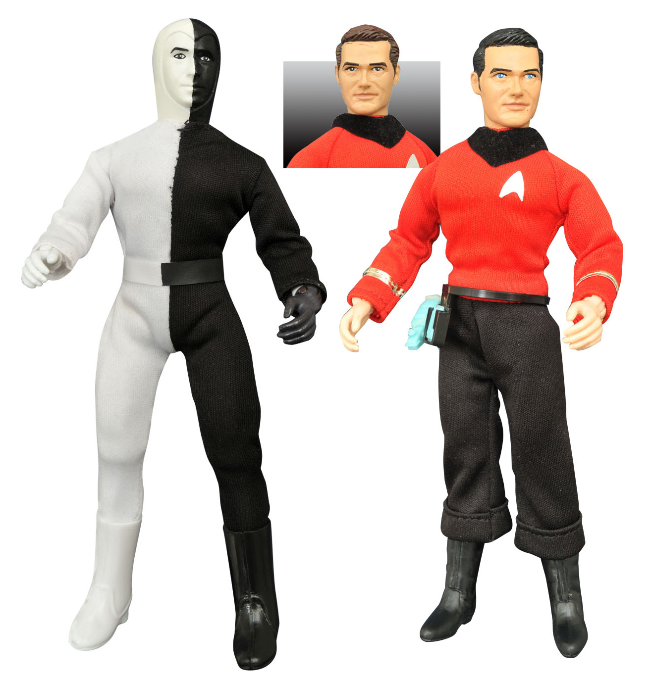 vintage Star trek action figures