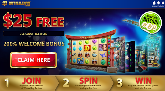 Winaday Casino Welcome Offer
