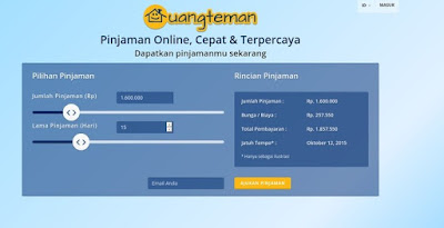 Pinjam Uang Tunai Tanpa Syarat secara Online