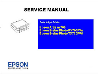 Service Manual Epson Stylus Photo TX700FW