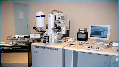 Le microscope électronique à balayage