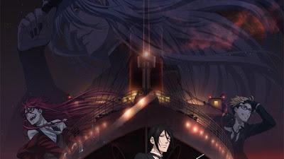 La película Kuroshitsuji: Book of the Atlantic será lanzada en Blu-ray Disc, DVD