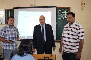 وكيل وزارة التربية والتعليم بالغربية يتابع مدرسة عمرو بن العاص بغرب طنطا ومهلة يومان لمدير المدرسة لتلافي السلبيات، وإحالة المتابعين للشئون القانونية