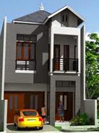 Desain Rumah Minimalis 2 Lantai Di Lahan Sempit - Gambar ...