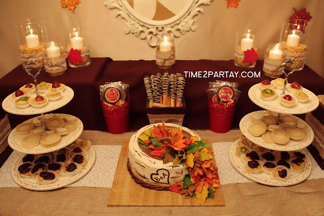 Fall Themed Bridal Shower