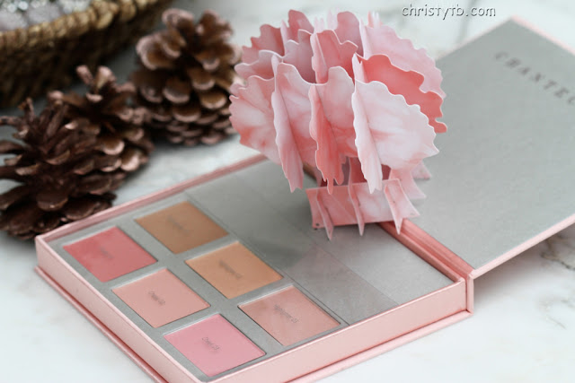 Рождество 2017 с Chantecaille: палетка L´Ambre Illumine cheek and highlighter palette