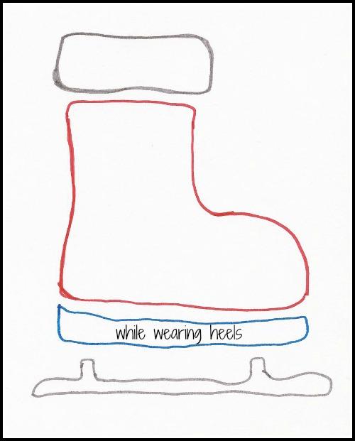 hockey skate template