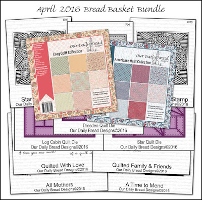 Our Daily Bread Designs April 2016 Bread Basket Bundle