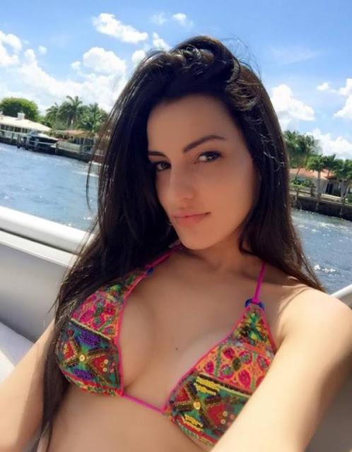 Mily Aleman Portales esposa del cantante Alexander del grupo Gente de Zona
