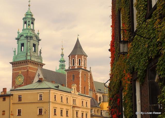 Krakow - slottet Wawel