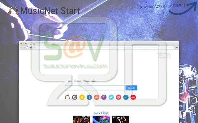 """""""MusicNet Start"""" (Extensión)"""