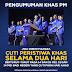 #PRU14: Amanat Najib Razak - Cuti peristiwa dua hari berturut-turut